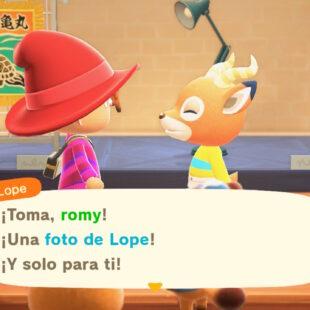 Animal Crossing New horizons: Cómo obtener las fotos